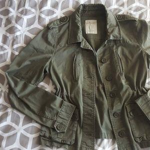 Calvin Klein Green Utility jacket